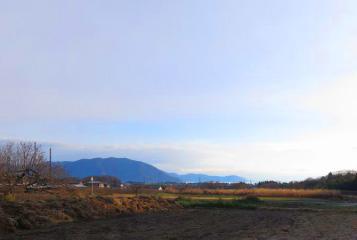 平屋のセカンドハウスからの眺望1