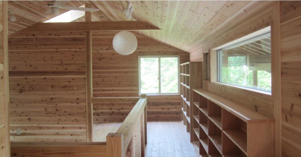 杉無垢の家